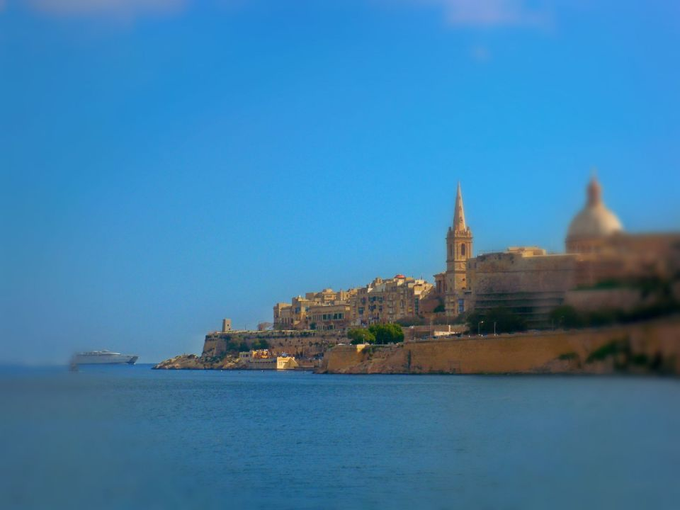 View of Valetta, Malta