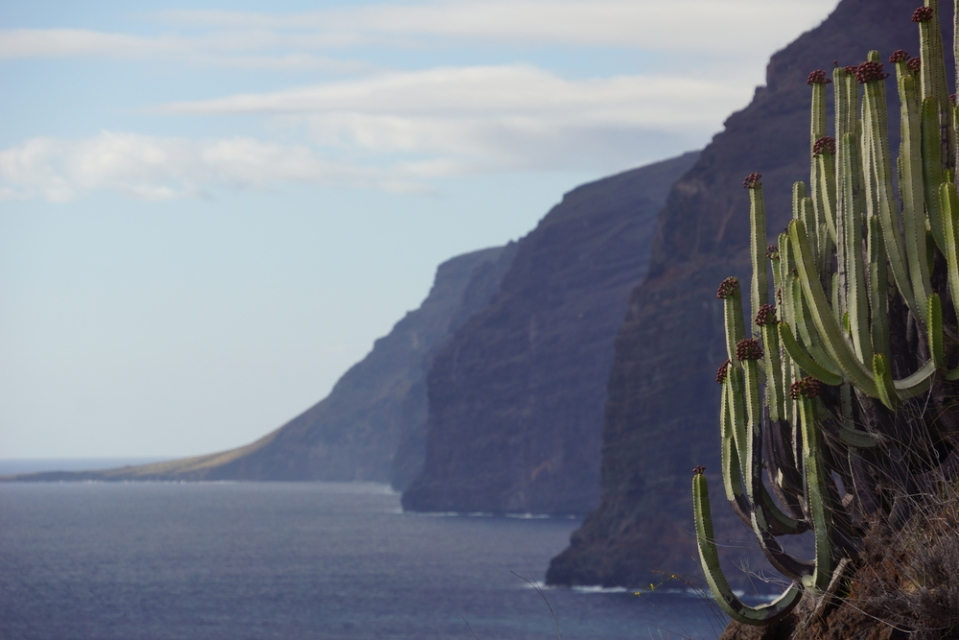 Los Gigantes on Tenerife