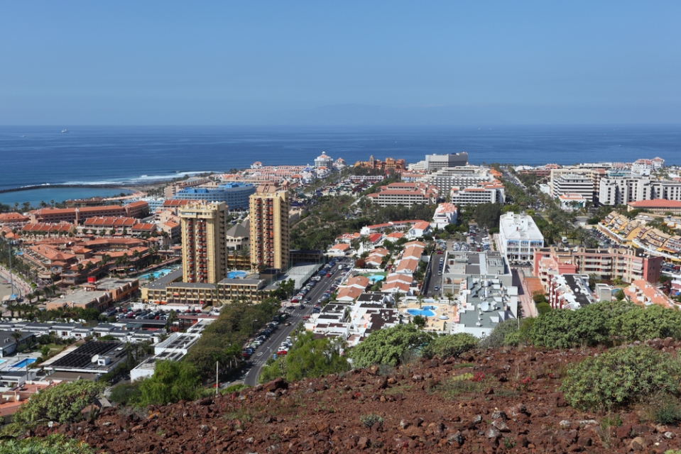 Playa de las Américas, Tenerife, Canary Islands