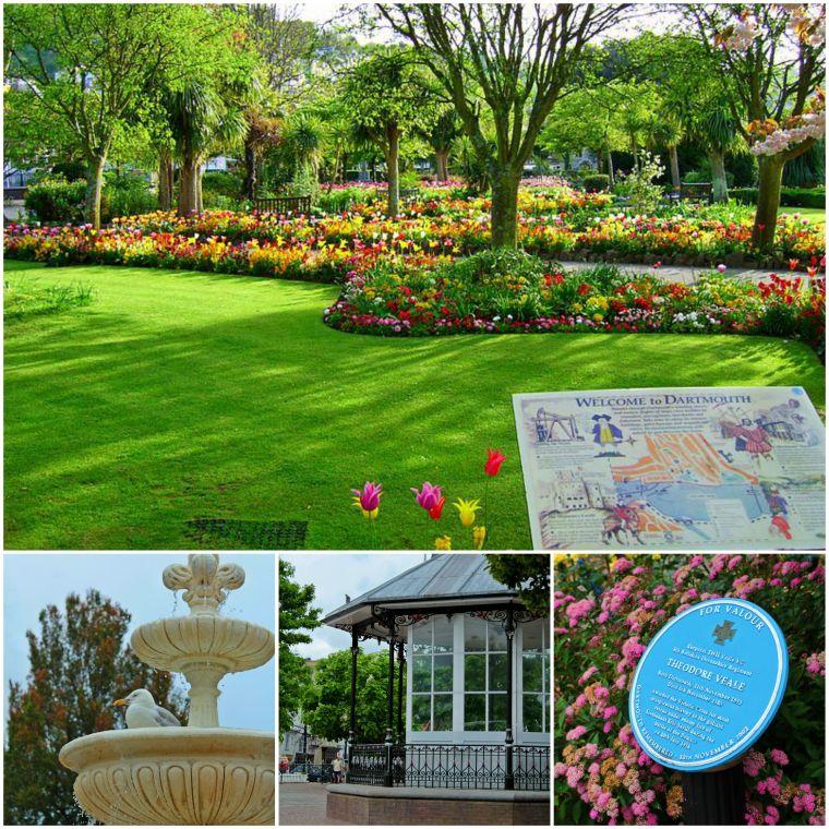 Royal Avenue Gardens, Dartmouth, Devon