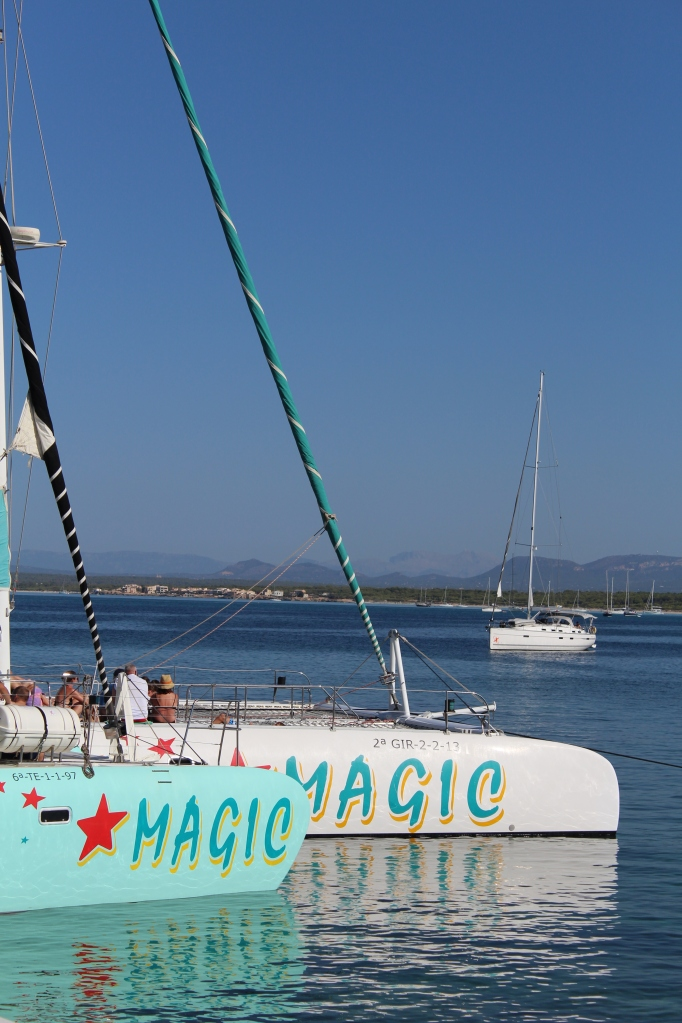 Magic Catamaran in Port Colonia de Sant Jordi