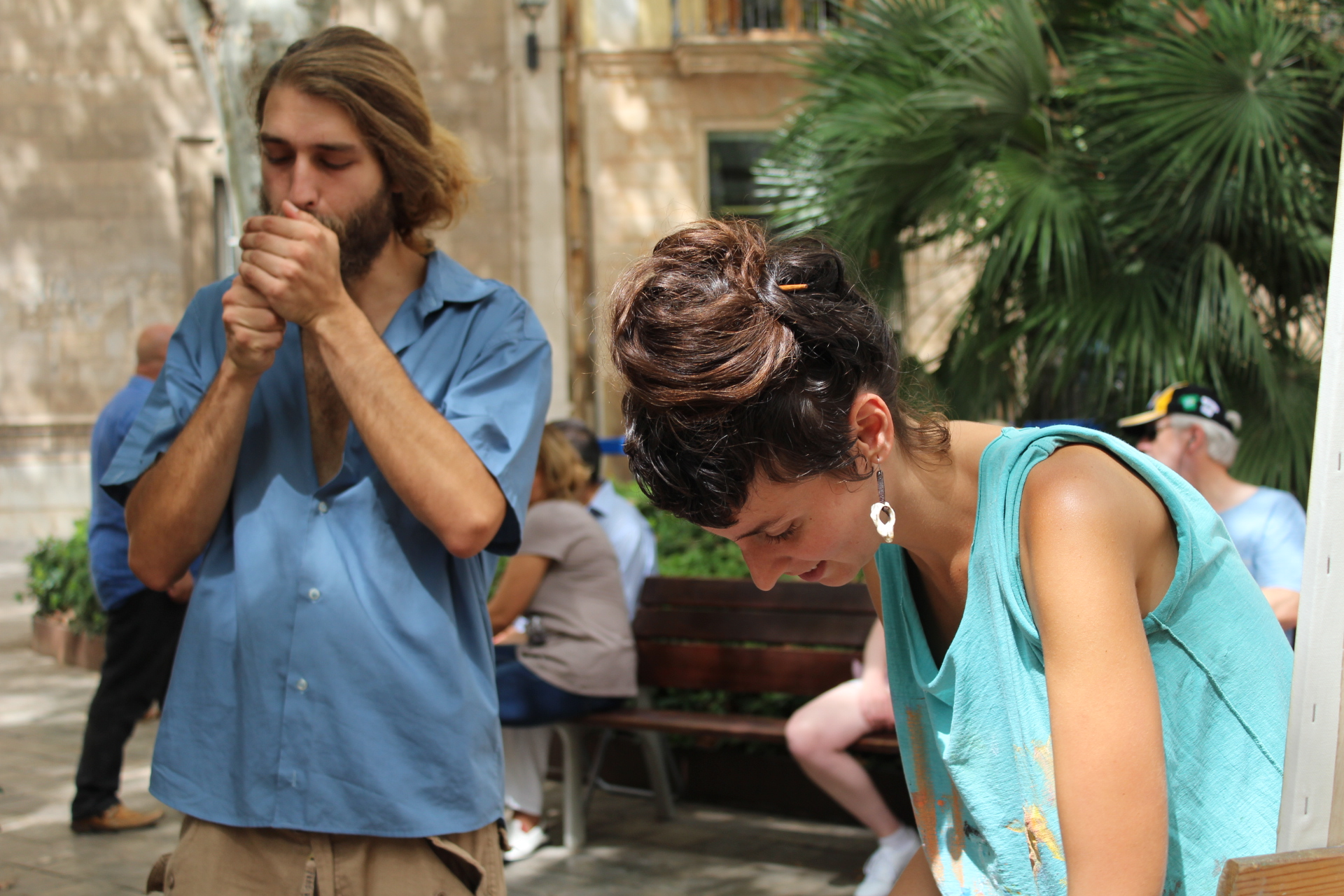 Artists in Palma, Mallorca