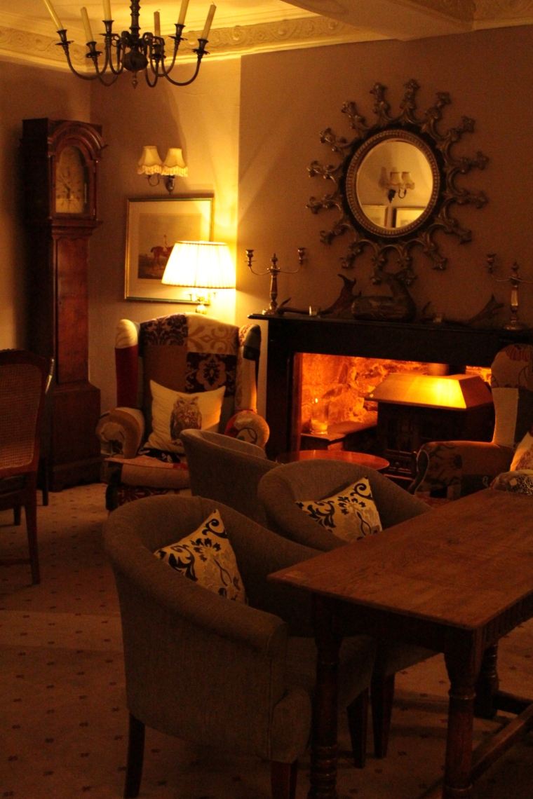 It's easy to relax at the Luttrell Arms Hotel