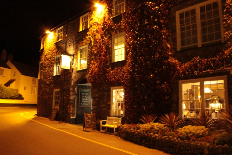 A wonderful place to stay: The Luttrell Arms Dunster
