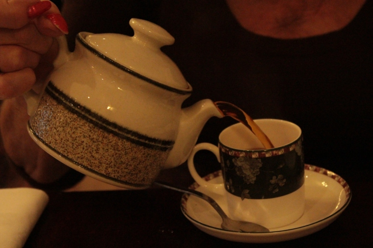 Tea for one? Luttrell Arms Hotel in Dunster, Somerset